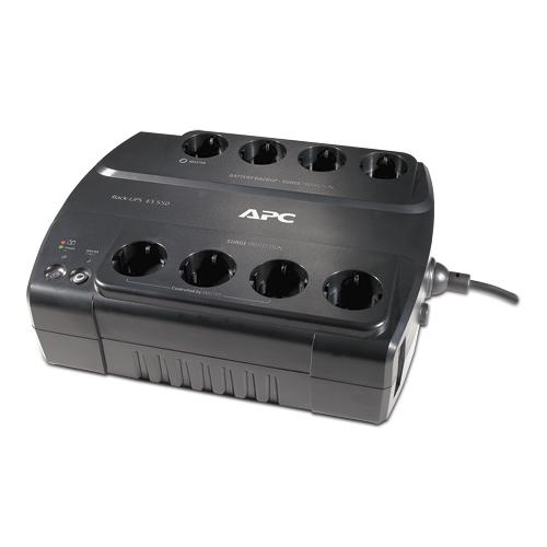 APC BE550G sistema de alimentación ininterrumpida (UPS) 550 VA 330 W