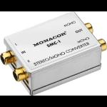 Monacor SMC-1 audio converter Silver