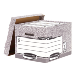 Fellowes Bankers Box Grey file storage box/organizer