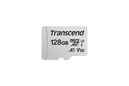 Transcend TS128GUSD300S-A memory card 128 GB MicroSDXC Class 10 NAND