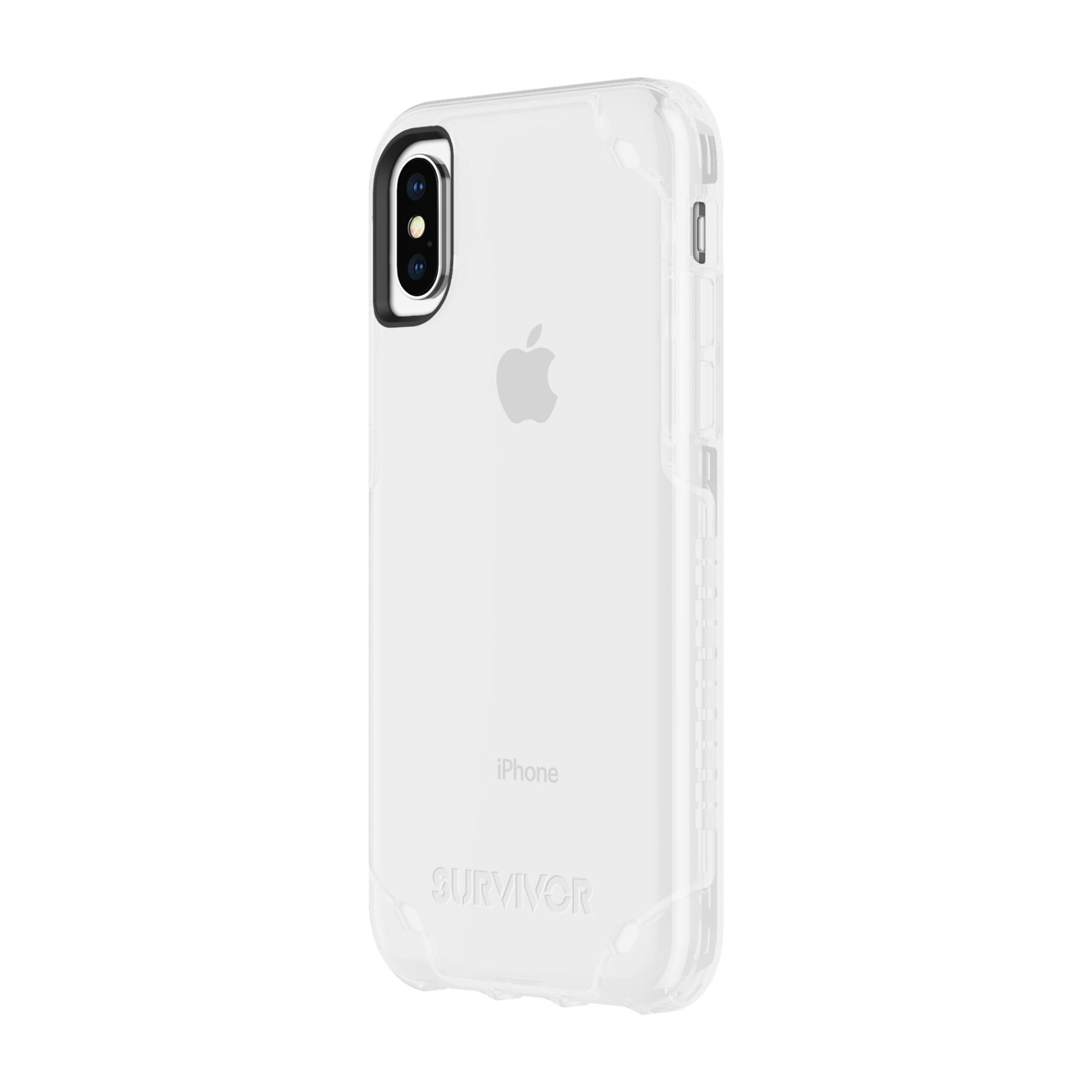"Incipio Survivor Strong mobile phone case 14.7 cm (5.8"") Cover Transparent"
