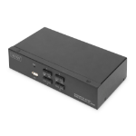 Digitus DS-12880 KVM switch Black