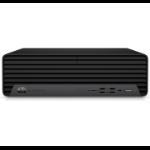 HP EliteDesk 800 G6 10th gen Intel® Core™ i7 i7-10700 16 GB DDR4-SDRAM 512 GB SSD SFF Black PC Windows 10 Pro