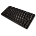 Accuratus KYB500-K82A keyboard USB + PS/2 AZERTY Black