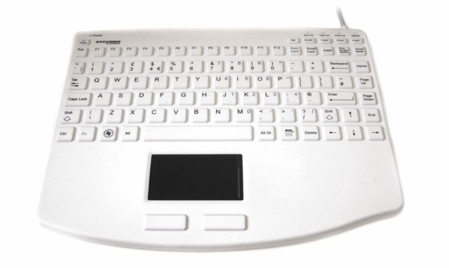 Accuratus KYBNA-SIL540CV2W keyboard USB QWERTY English White