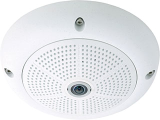 Mobotix MX-Q25M-SEC-D12 + DAY L12 & I IP security camera Indoor & outdoor Dome White