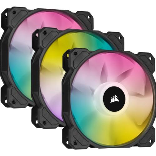 Corsair SP120 RGB ELITE Computer case Fan 12 cm Black 3 pc(s)