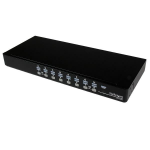 StarTech.com 16 Port 1U Rackmount USB KVM Switch with OSD SV1631DUSBU