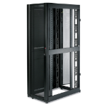 APC NetShelter SX 42U 600mm Wide x 1070mm Deep Enclosure with Sides Black estante Rack o bastidor independiente Negro