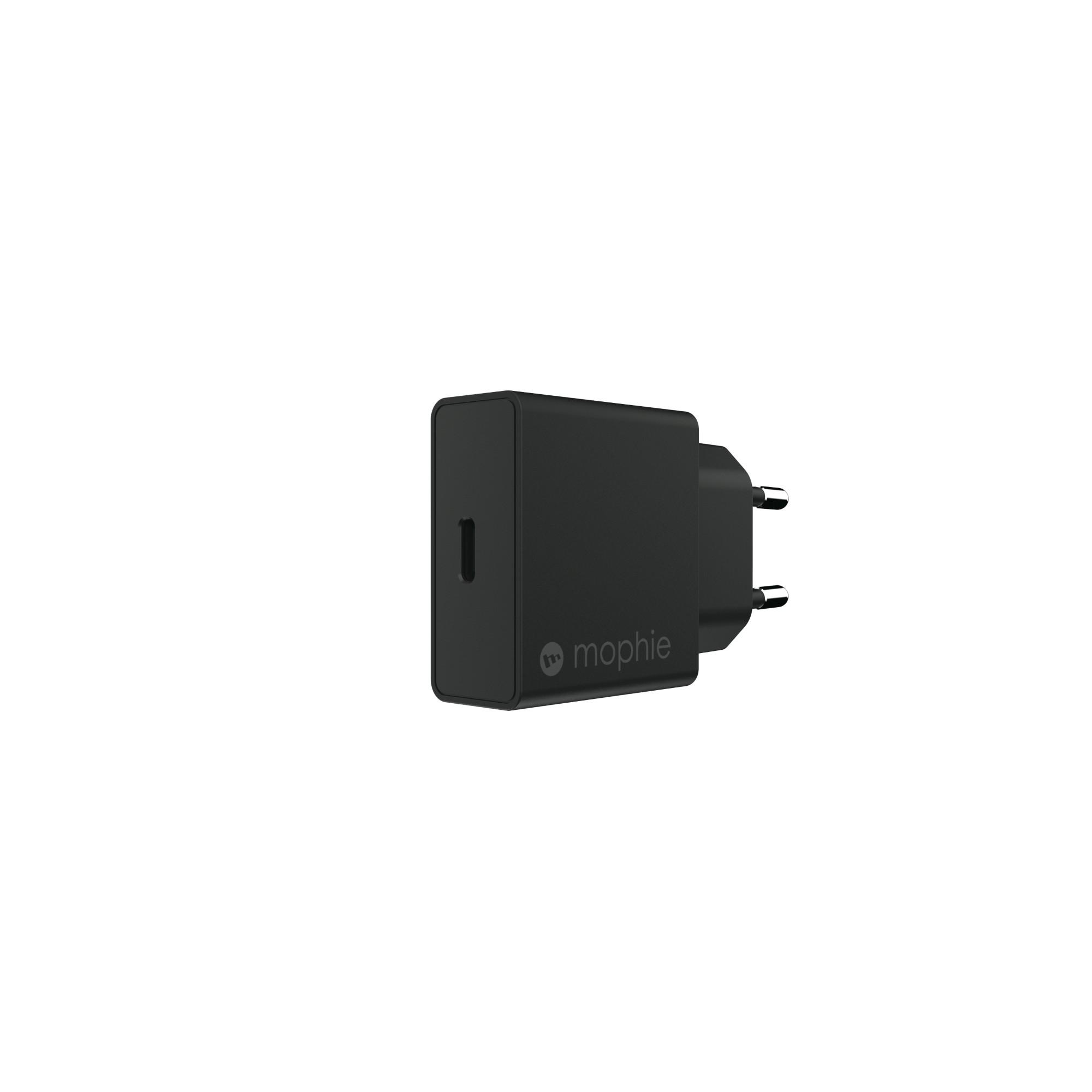 mophie 409903235 cargador de dispositivo móvil Interior Negro