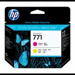 New Genuine HP 771 Magenta/Yellow DesignJet Printhead