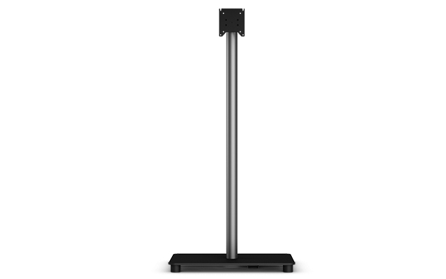 """Elo Touch Solution E048069 22"""" Fixed Black flat panel floorstand"""
