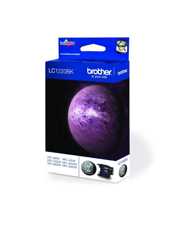 Brother LC-1220BKBP cartucho de tinta Original Negro 1 pieza(s)