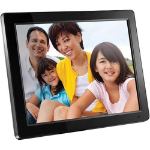 "Aluratek ADMPF512F digital photo frame 12"" Black"
