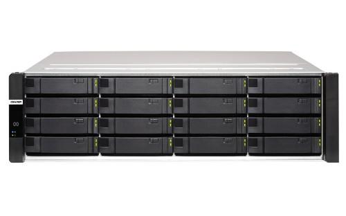 QNAP ES1686dc D-2123IT Ethernet LAN Rack (3U) Black, Grey NAS