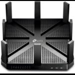 TP-LINK Archer C5400 draadloze router Tri-band (2.4 GHz / 5 GHz / 5 GHz) Gigabit Ethernet Zwart