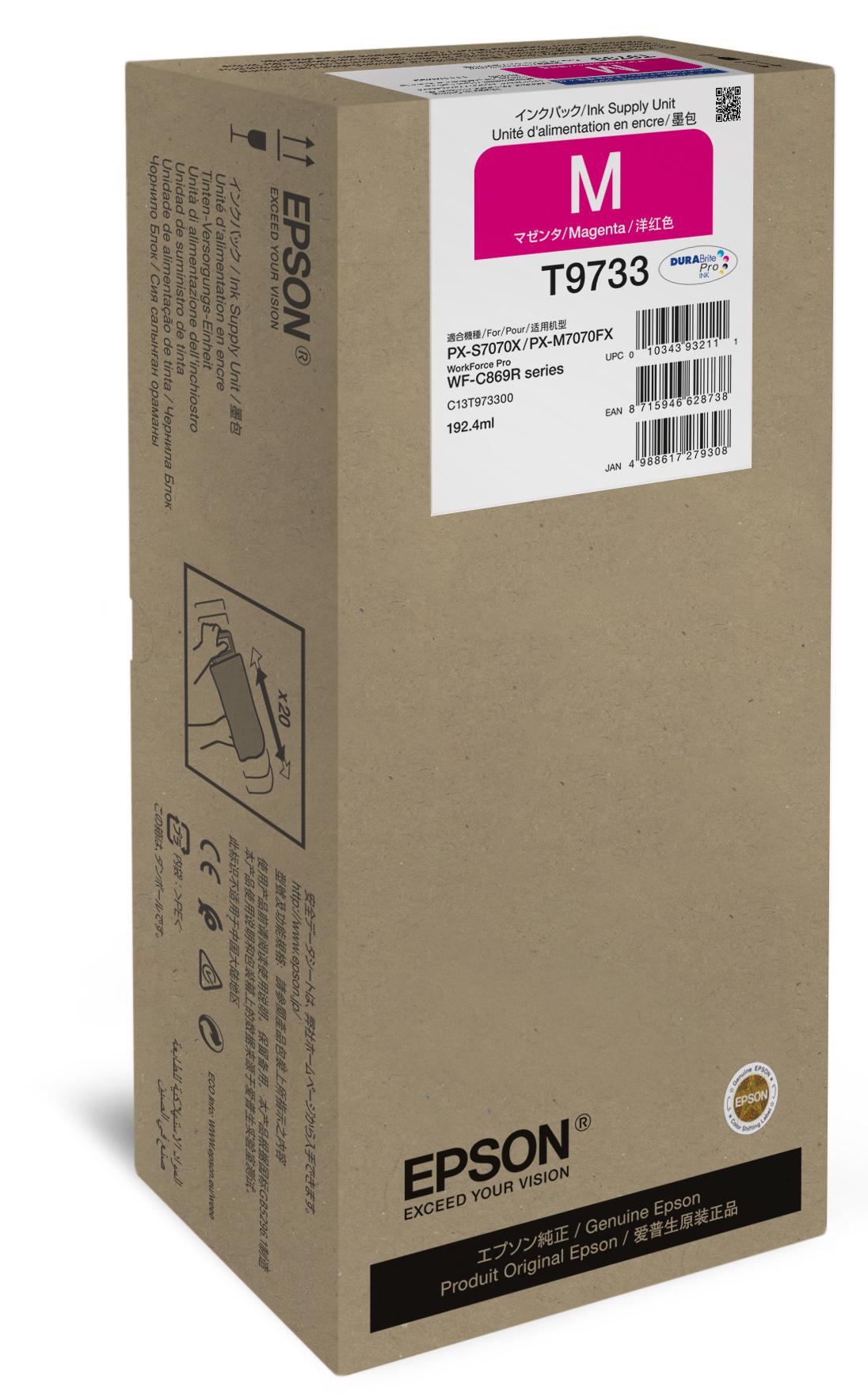 Epson Magenta XL Ink Supply Unit