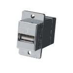 Black Box FAUSB31 wire connector USB Silver