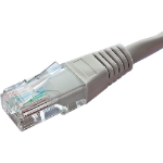 Cablenet 67 1010 1m Cat5e U/UTP (UTP) Grey networking cable
