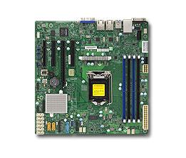 Supermicro X11SSM-F server/workstation motherboard Micro ATX Intel® C236