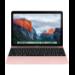 "Apple MacBook 1.1GHz m5-6Y54 12"" 2304 x 1440pixels Pink Notebook"