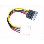 Microconnect SATA Power 4pin-15pin 0.2m power cable