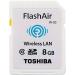 Toshiba FlashAir W-03 8GB 8GB SDHC Class 10 memory card