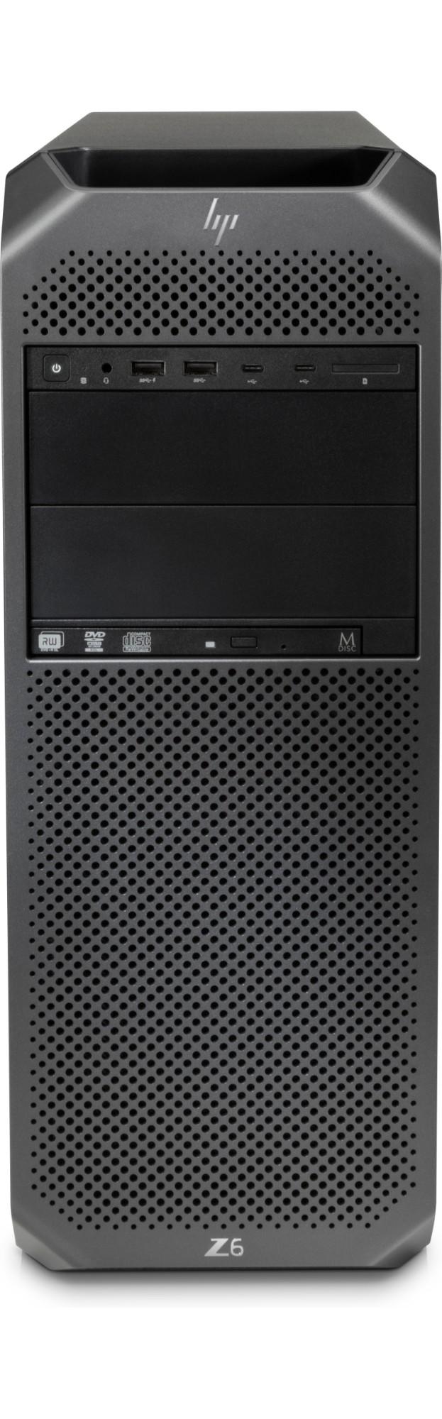 HP Z6 G4 Intel® Xeon® 4108 32 GB DDR4-SDRAM 256 GB SSD Zwart Toren Workstation