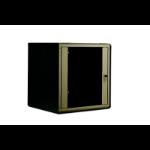 "Digitus SoHo Line 12U 19"" Wall Mounting Cabinet Black rack"