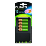 Duracell CEF15EU Indoor battery charger Black battery charger