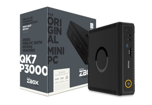 Zotac ZBOX QK7P3000 LGA 1151 (Socket H4) 2.9 GHz i7-7700T Black