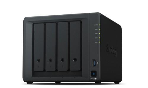 Synology DiskStation DS420+ NAS/storage server Desktop Ethernet LAN Black J4025