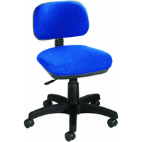 FF Jemini Gas Lift Typist Chair Blue