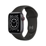 Apple Watch Series 6 OLED 40 mm Gris 4G GPS (satélite)