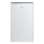Igenix IG3920 combi-fridge Undercounter White