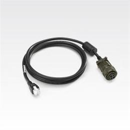 Zebra AC Power Cable cable de transmisión Negro