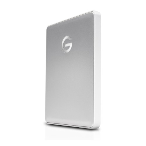 G-Technology G-DRIVE Mobile USB-C external hard drive 2000 GB Silver