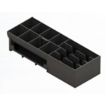 APG Cash Drawer 20266PAC Black cash tray