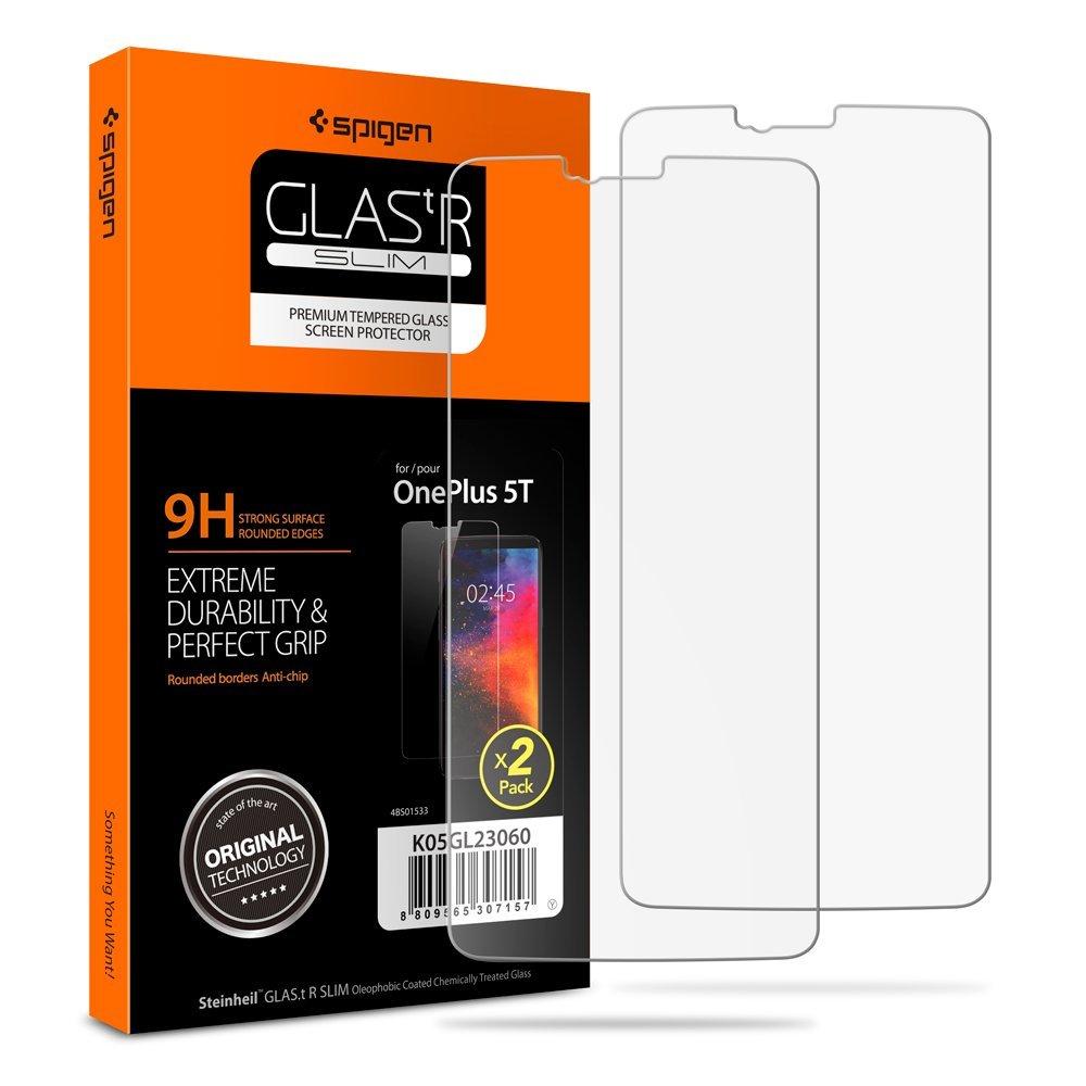 Spigen Glass.tR Slim 5t 2 stuk(s)