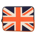 Urban Factory 12-Inch Neopren Flag Notebook Sleeve Case - UK Flag (FLG01UF)
