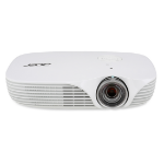 Acer Professional and Education K138ST Portable projector 800ANSI lumens DLP WXGA (1280x800) 3D White data projector