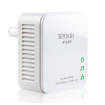 Tenda P200 200Mbit/s Ethernet LAN White 1pc(s) PowerLine network adapter