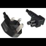 Microconnect PE090850 power cable Black 5 m C5 coupler