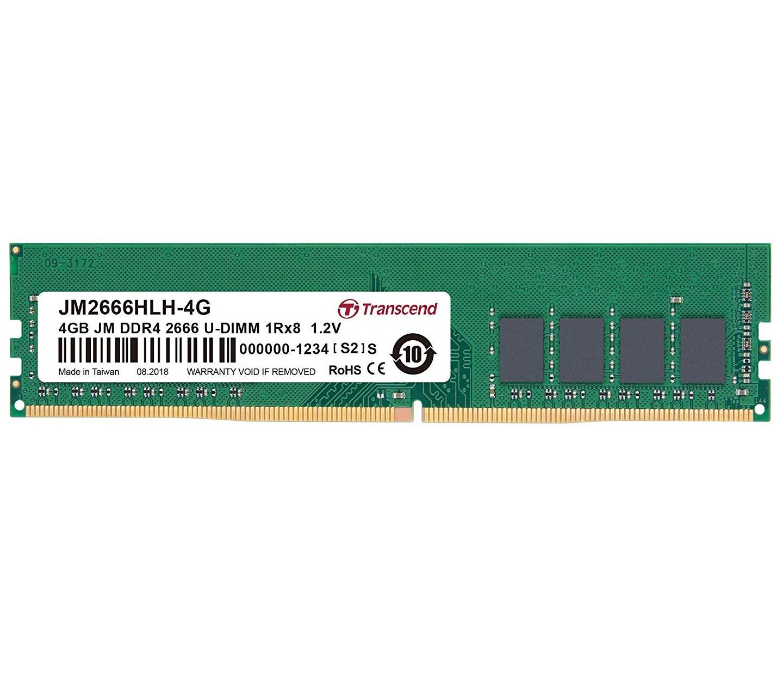 4GB Jetram Ddr4 2666mgz U-DIMM 1rx8 Cl19