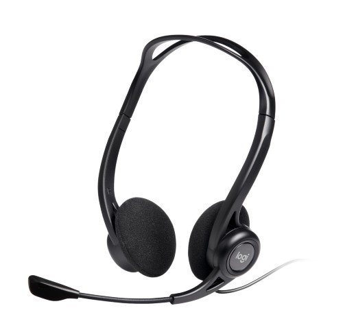 Logitech 960 USB Binaural Head-band Black headset