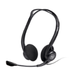 Logitech 960 USB Binaural Head-band Black