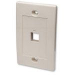 Intellinet 162654 outlet box Ivory