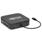 Tripp Lite MTB3-DOCK-04 notebook dock/port replicator Wired Thunderbolt 3 Black