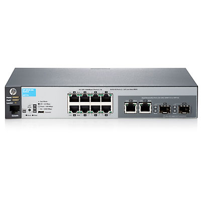 Hewlett Packard Enterprise 2530-8G Managed L2 Gigabit Ethernet (10/100/1000) 1U Grey