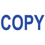 Colop GREEN LINE WORD STAMP COPY BLUE
